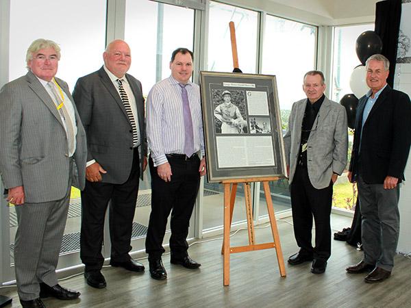 George Moore Tribute Unveiling